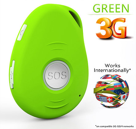 WCDMA kids Tracker Fall detection for Personal gps high precision With Recycle System