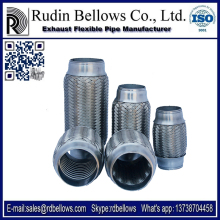 Ruian Rudin 45*150mm car flexible exhaust pipe with stainless steel material