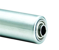 Steel conveyor idler roller