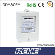 Single-phase Power Measurement Multi-rate Watt-hour Meter