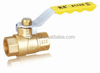 Lever Handle Brass Gas Ball Valve(FxF)