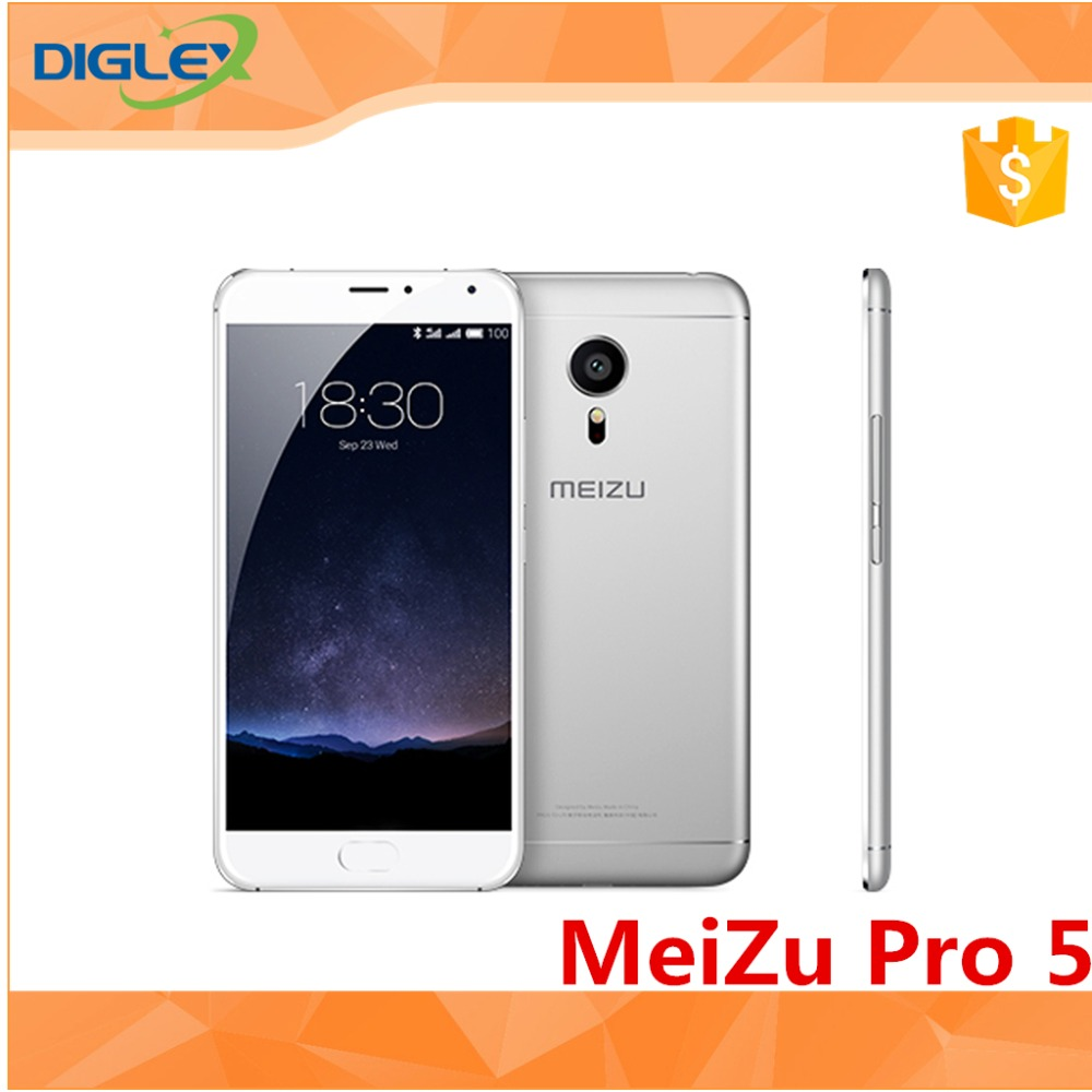"Original Meizu PRO 5 MX5 Pro 5.7"" 4G LTE mobilePhone 7420 Octa Core Camera 21.16MP 4GB RAM 64GB ROM Flyme 4.5 Fingerprint ID"