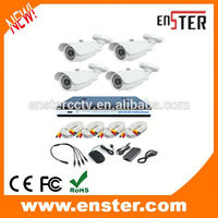 hot selling700TVL Home Security Camera DVR Kit Indoor Outdoor 4CH CCTV DVR Kit wifi ip camera with nvr kit