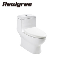 A038 Antique Upc Bathroom Ceramic Dual Flush One Piece Toilets