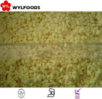 Market price High Quality iqf frozen diced ginger cubes