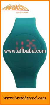 Digital Led Watch,Touch screen led watch,Silicone Jelly Watch Relogio Timepiece Company Manufactures wholesale timepiece IT10051