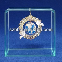 Translucent acrylic ornament stand display rack