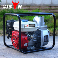 BISON CHINA Taizhou 3 Inch Portable Farm Irrigation Diesel Water Pumps