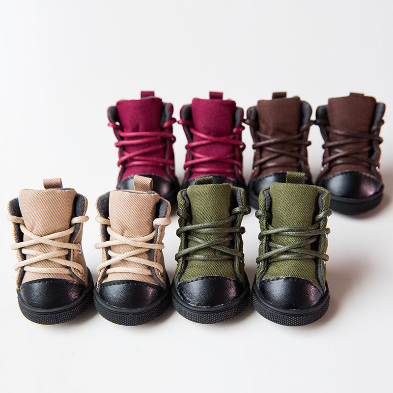 Fashion Pet Dog Boots Puppy Shoes