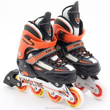 retractable rubber inline roller skate shoes for kids