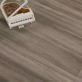 European Antique Light Grey color UV Coating Asian Taun solid wood flooring