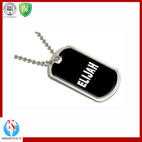 Safety Reflective Custom Engraved Qr Code Pet Id Tag