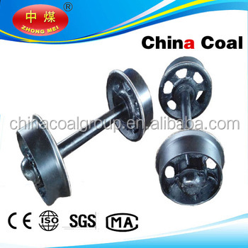 Cast iron ore cart wheel set from China coal group