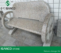 Natural Chinese Red Granite G664 Granite Bench For Garden Decoration