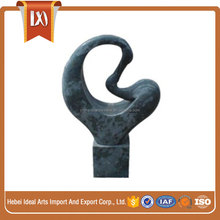 Stone carving abstract small malaysian art and sculpture