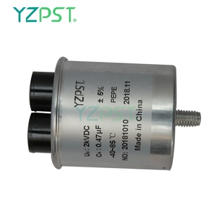 High quality damping and absorption capacitors 2UF 2KVAC snubber capacitor