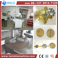 TKD510 SILVER COIN CHOCOLATE PACKING MACHINE