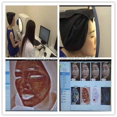 Salon use reveal skin analysis face beauty device