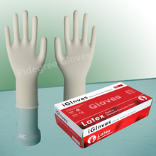 Medical glove latex/latex surgical glove
