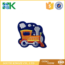 New transportationcar train thomas patches Embroidered Iron On Patch Cloth paste for child clothes bag