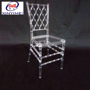Buy durable transparent used dining room chair