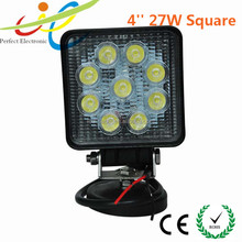 "Led headlight type 4"" 27W led work light truck tractor 4wd 4x4 offroad ,heavy duty fog light"