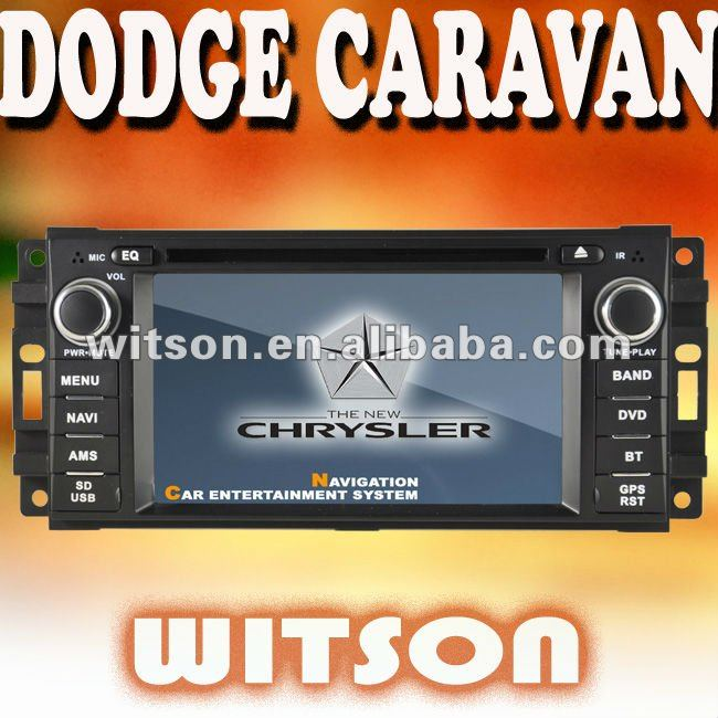 WITSON car dvd with gps for DODGE CARAVAN with iPhone ready