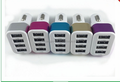 2016 Qi wireless 4 port car charger