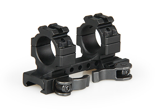 22-0241 Tactical Hunting Air Gun Rifle Scope Mount Double Ring And QD Quick Detachable Mount With 20mm Rail