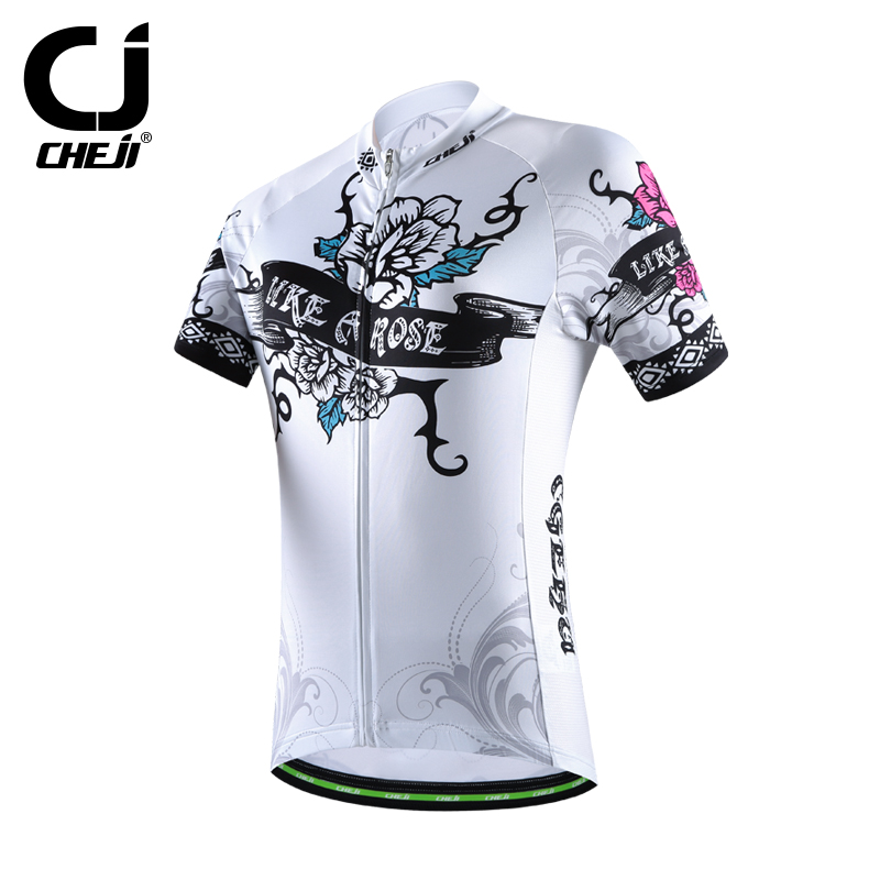 2016 cheji womens cycling jersey <strong>specialized</strong> / custom cycling jersey quickly vents perspiration jersey sports top 2 colors