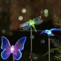 Esky Solar Powered Hummingbird, Butterfly & Dragonfly Garden Stake Light