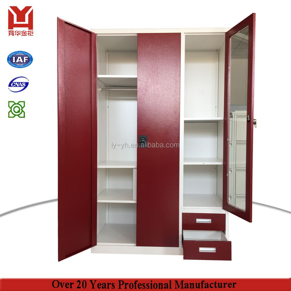 Cheap Price India Style Godrej Steel Almirah Designs Metal Electronic Locker Otobi Wardrobe In Bangladesh Price