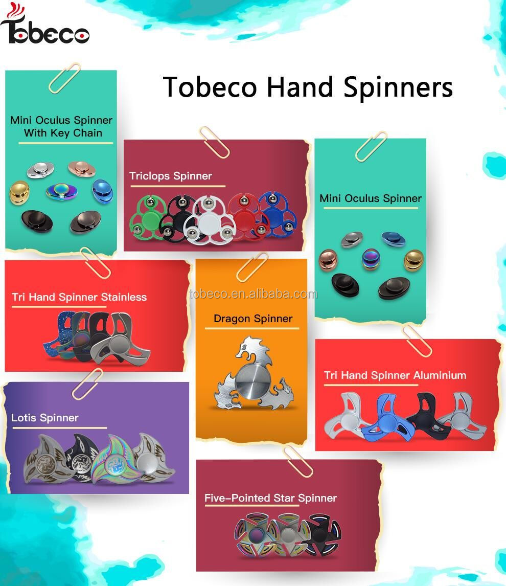 High speed alloy hybrid ceramic bearing tri fidget spinner metal Adhd focus toy hand fidget spinner