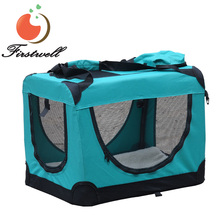 Pet Carrier Soft Sided Large Cat Dog Comfort Bag Travel Approved