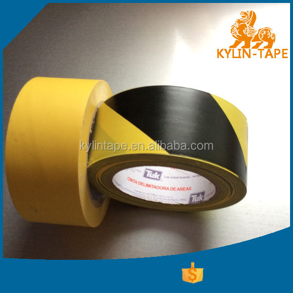 security caution pvc strip detectable warning tape