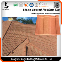 Colorful Stone coated steel roof tile,Zambia Building Materials Harvey Roofing Tile