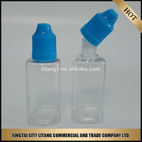 New product of empty e cig liquids PET clear plastic dropper bottle sale by litang company
