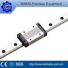 MMS square motor plastic linear bearing guide rail for machine tool