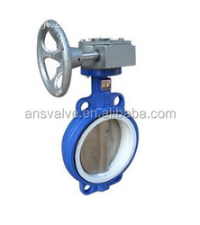 Worm Gear Operated/Handle Wafer Butterfly Valve
