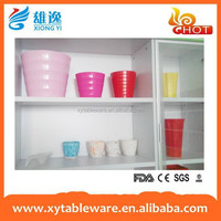 Eco-Friendly Bamboo Fiber Flower Pot/melamine pot