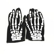 Promotional Glow In the Dark Night Party Custom Flashing Gloves