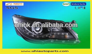 Car/auto body parts---car modified LED headlamp/headlight for VW Tiguan 11