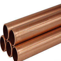 76mm Copper pipes/tubes/piping, made of Cu-DHP, brass copper pipe