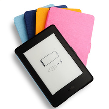 Smart Cover for Kindle Paperwhite Case PU Leather Case for Amazon Kindle Paperwhite 1 2 3 Cover wtih Auto Sleep function