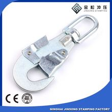 Factory Supplier safety climbing metal collar snap hook