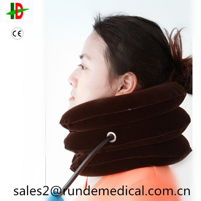 As Seen on TV Air Cervical Neck Brace Traction ,Inflatable Air Neck Brace,Air Traction Back Brace