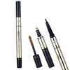 3 In 1 3D Eyebrow Makeup Set Eye Brow Powder and Brow Pencil with Brush Dual-ended