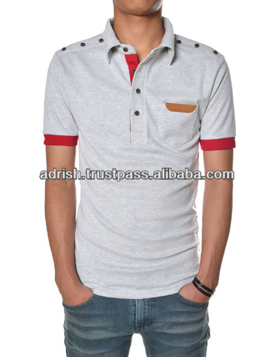 Men's Polo shirts, Polo t shirt with printting logo, T shirt with polo neck