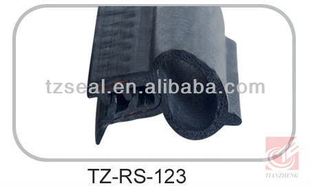 EPDM car door/window rubber seal strip