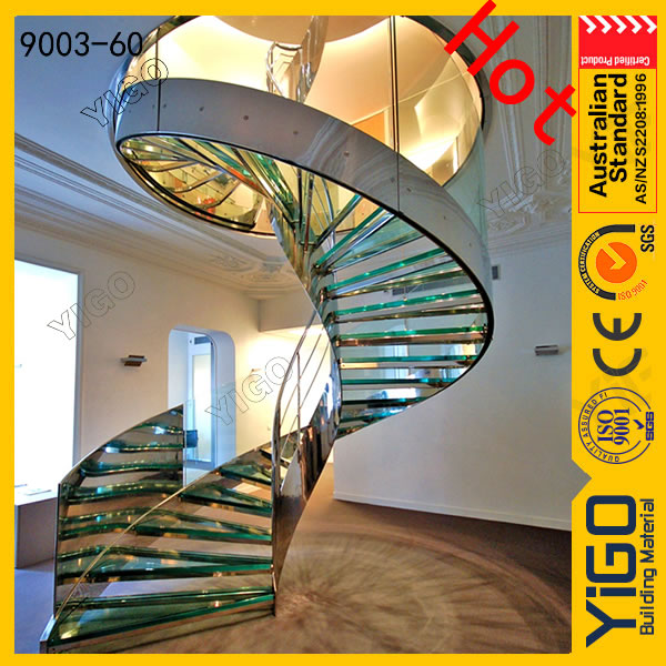 2014 design spiral stair with CE certificate